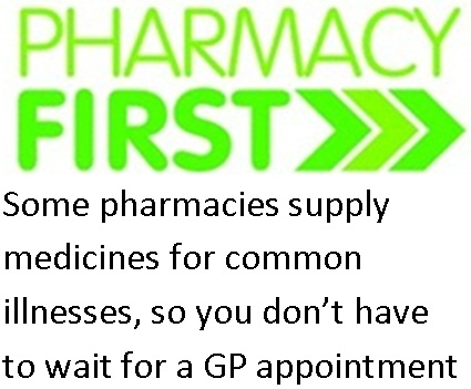 Pharmacy First Graphic