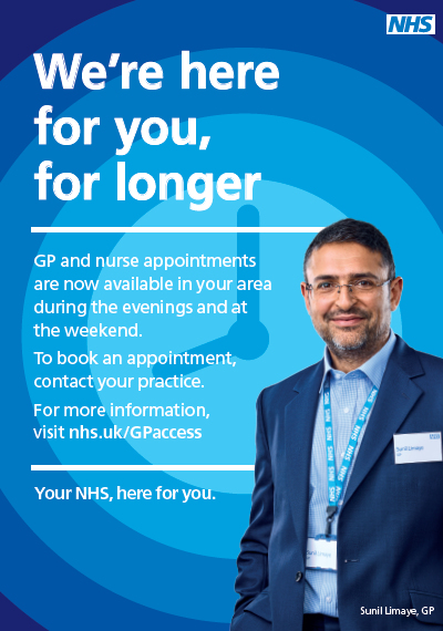 8 to 8 GP Hub Appointments