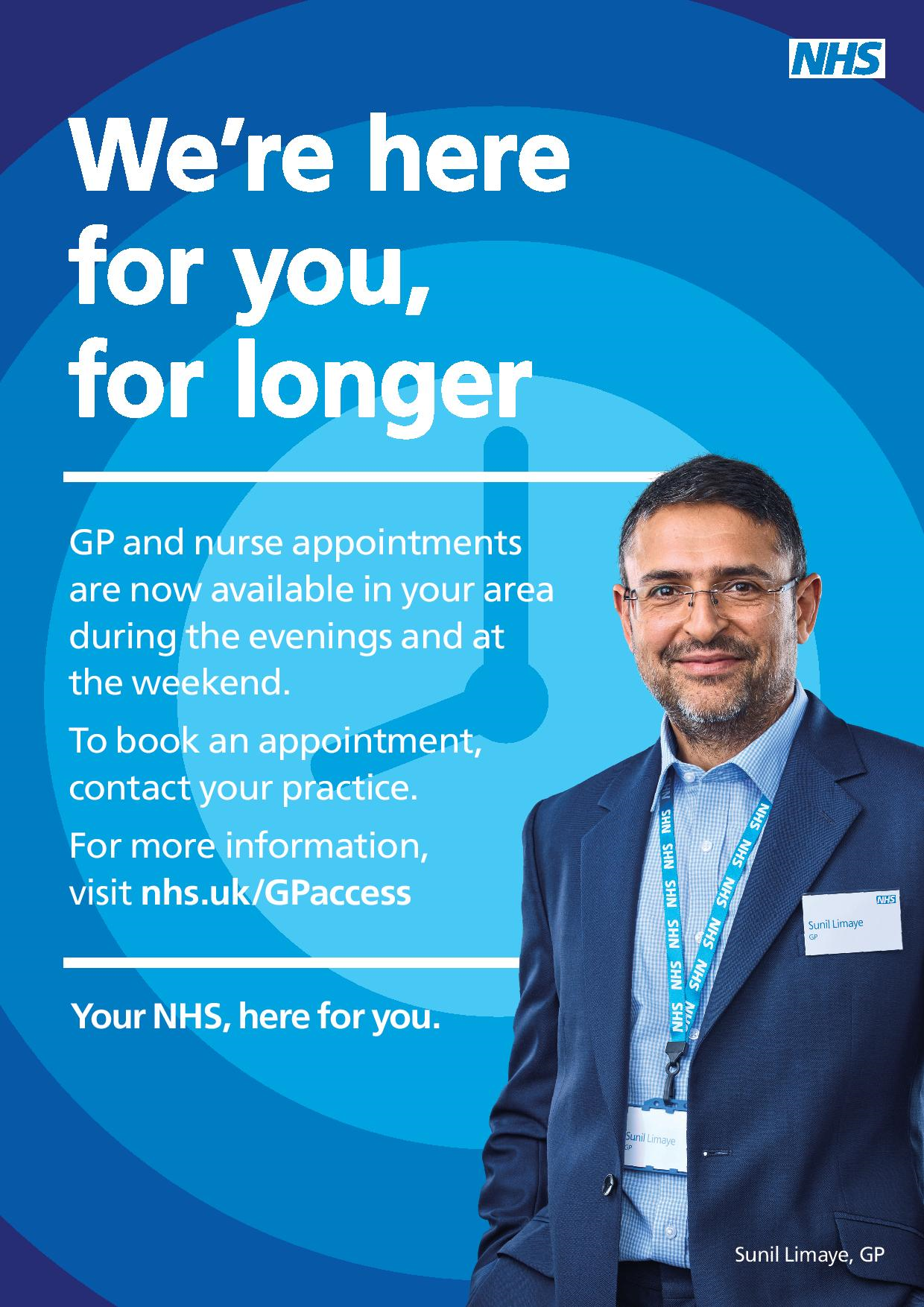 GP Extended Hours Poster