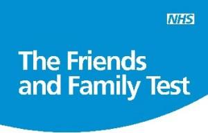 take our Friends & Family test now