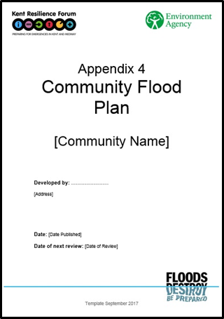 Appendix 4 Community flood plan template